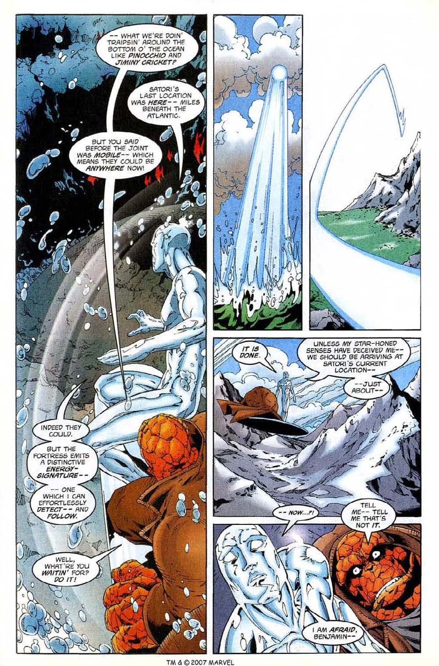 Read online Silver Surfer (1987) comic -  Issue #138 - 15