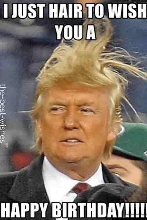 hilarious donald trump birthday memes