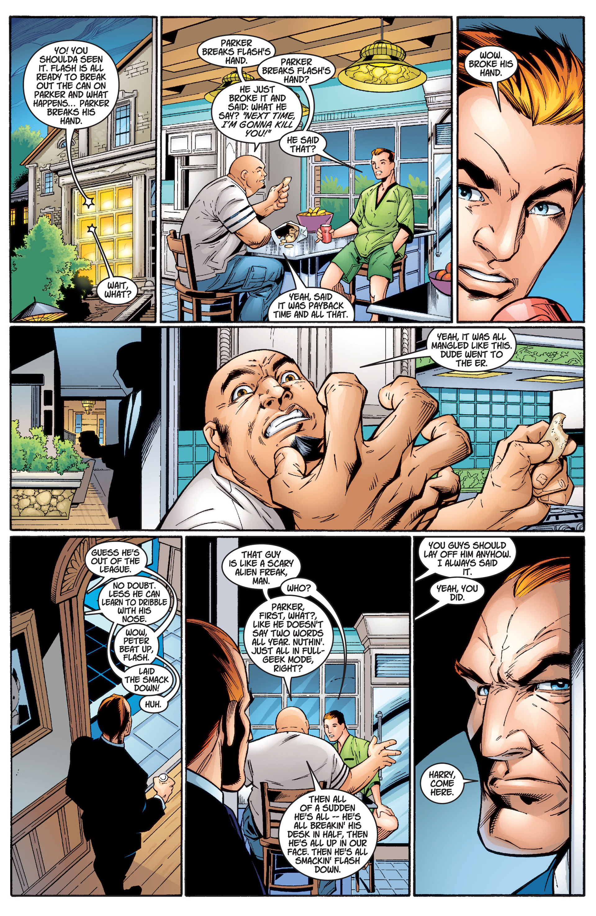 Read online Ultimate Spider-Man (2000) comic -  Issue #2 - 10