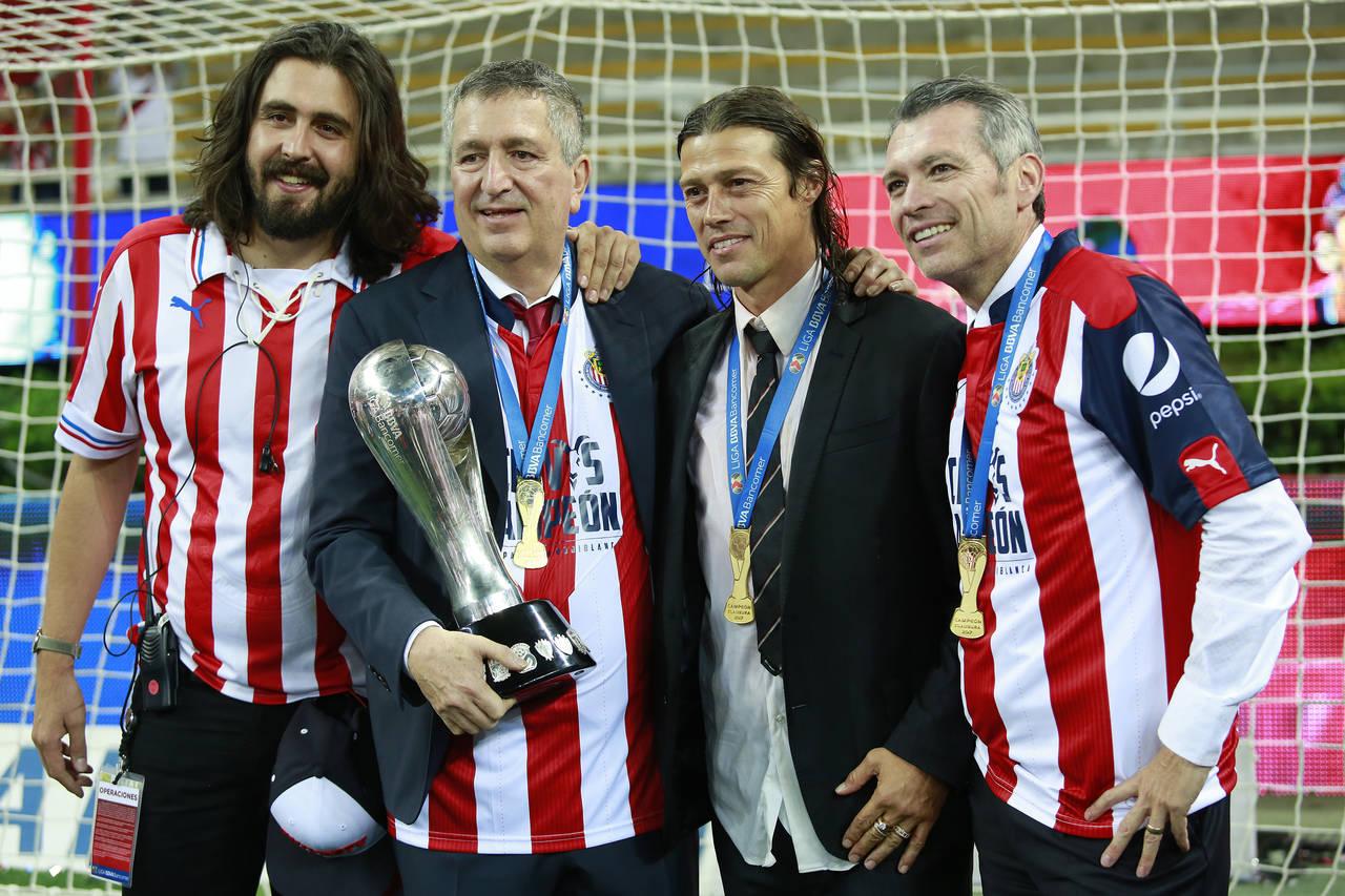 El triunvirato de Higuera, Vergara y Almeyda ya le dio un título de Liga al Guadalajara.