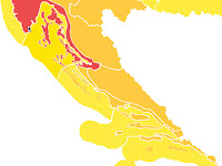 narančasti stupanj pripravnosti slike otok Brač Online