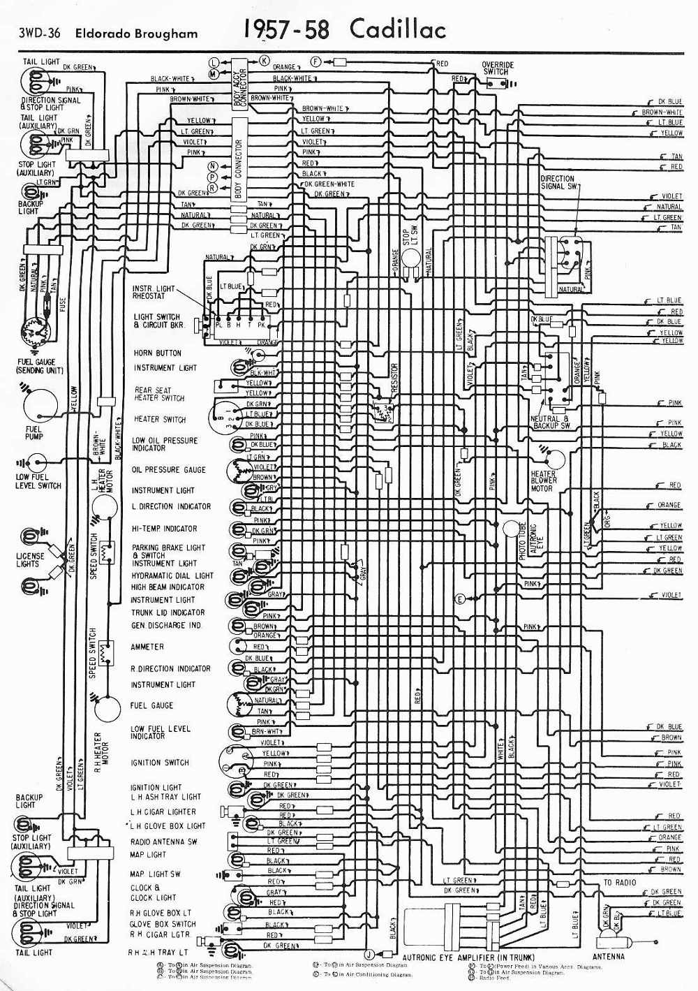 1950 cadillac wiring schematic free cadillac wiring diagrams general wiring diagrams  free cadillac wiring diagrams general