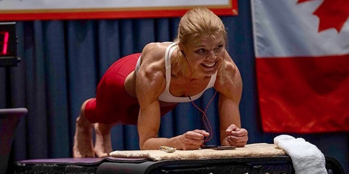 Woman Broke The Plank Record By Holding It For Four Hours
