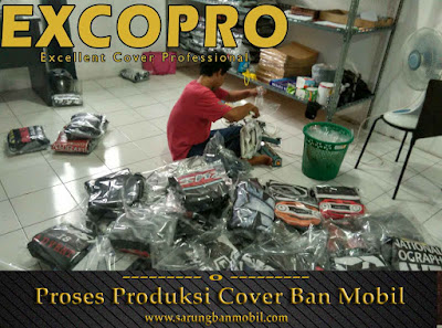 proses packing cover ban mobil