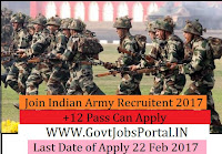 Join Indian Army Recruitment 2017 – JAG Entry Scheme 19th Course Oct -2017