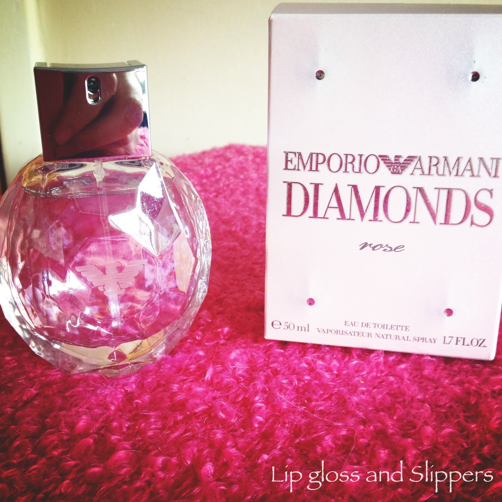 Lip Gloss And Slippers Emporio Armani Diamonds Rose Perfume Review