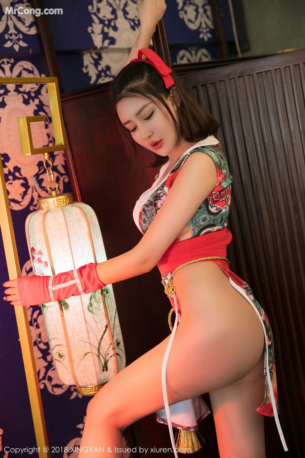 Image XingYan-Vol.028-MrCong.com-010 in post XingYan Vol.028: Người mẫu 廿十 (41 ảnh)