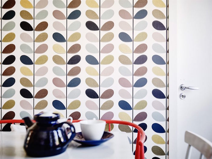ideas para renovar tu casa- detalle del papel pintado