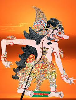 Gambar wayang Kumbokarno 2