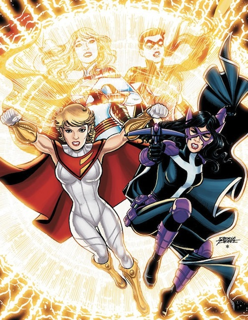 It's My World!: Venting the Anger: New Power Girl costume