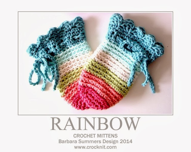 crochet patterns, how to crochet, mittens, baby,