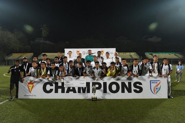 Minerva Punjab FC win Nike Premier Cup, 2017