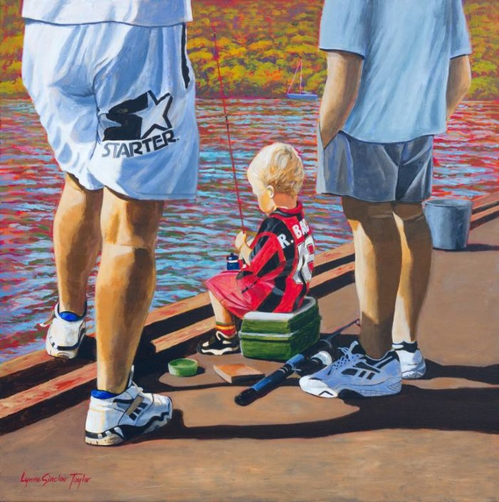Новозеландский художник. Lynne Sinclair Taylor
