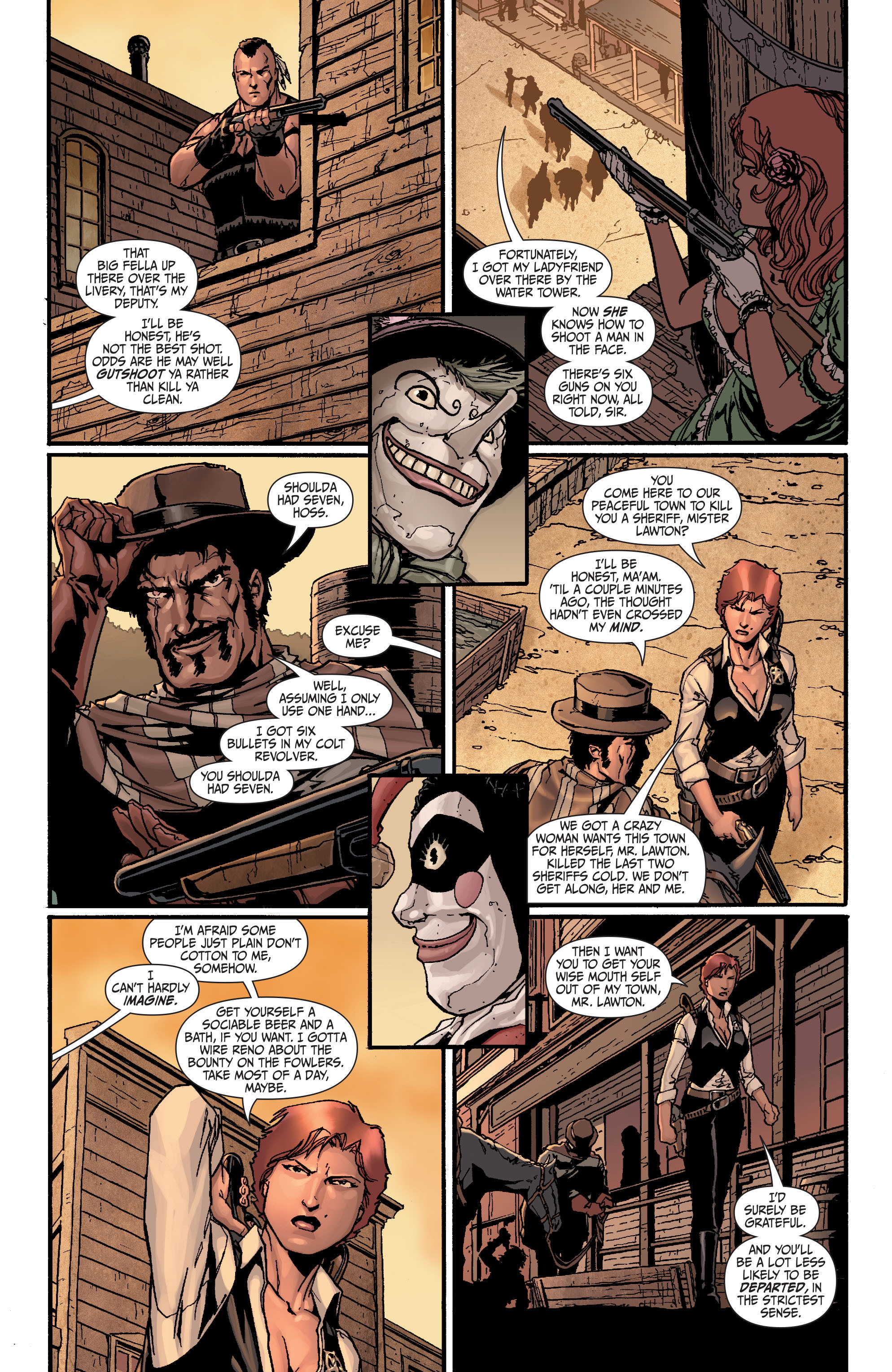 Read online Secret Six (2008) comic -  Issue #24 - 4