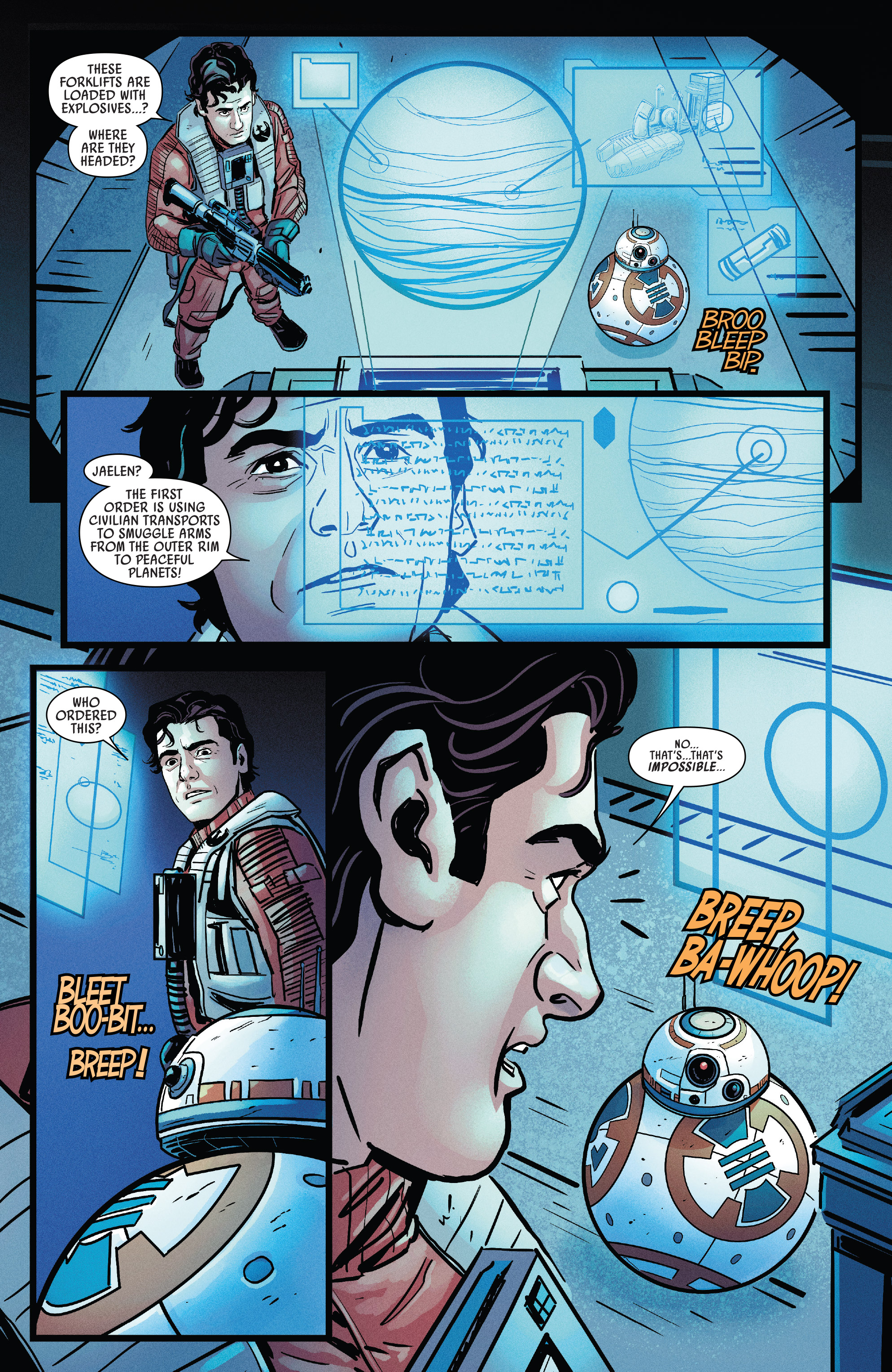 Read online Star Wars: Poe Dameron comic -  Issue # _Annual 1 - 21
