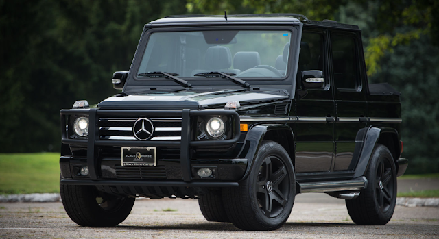 Bespoke Soft-Top Mercedes G55 AMG Can Be Yours For $118,000