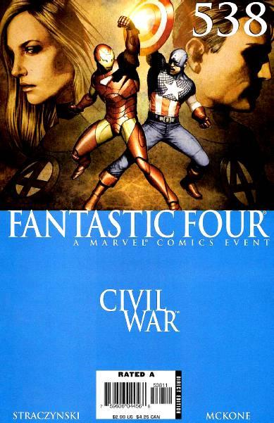 Civil War: Fantastic Four #538 PDF