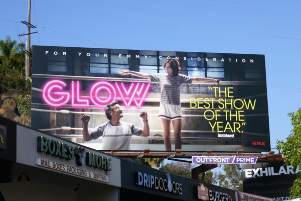 GLOW 2018 Emmy consideration billboard