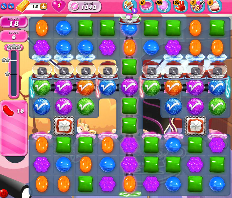 Candy Crush Saga 1843
