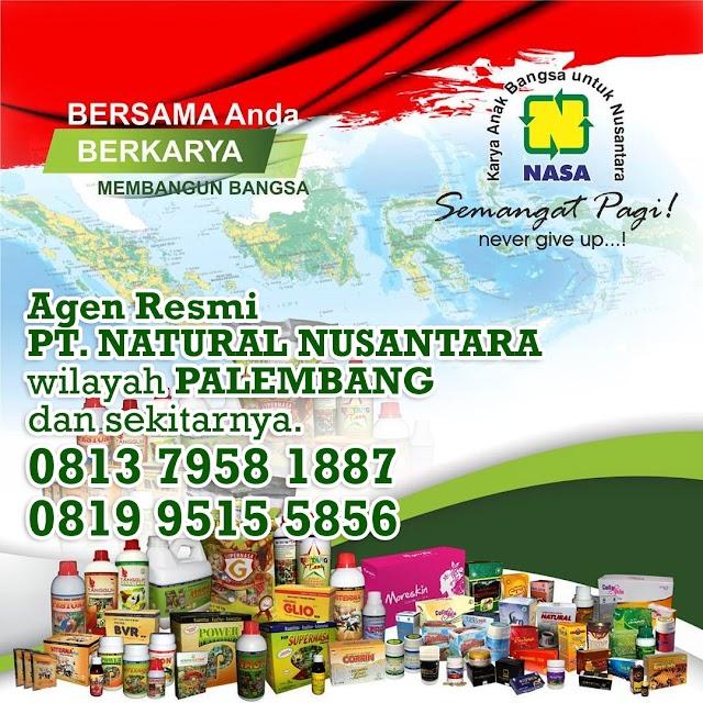 Alamat Distributor/Agen Resmi Nasa Wilayah Palembang, Plaju dan Sekitarnya.