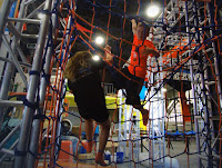 Net system for young adventurers near Pigeon Forge