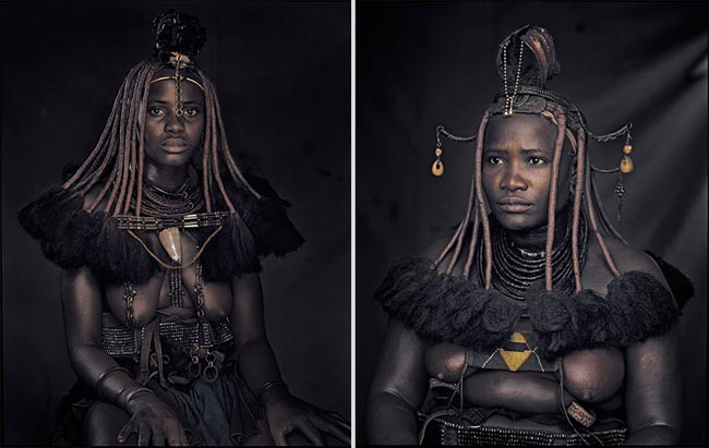 46 Must See Stunning Portraits Of The World's Remotest Tribes Before They Pass Away - Himba, Namibia