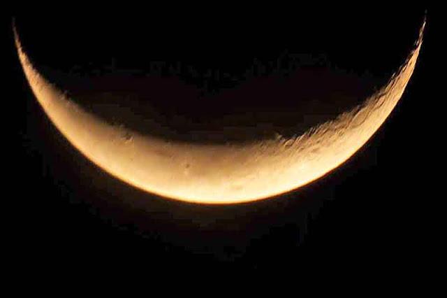 crescent, moon, Okinawa, smile