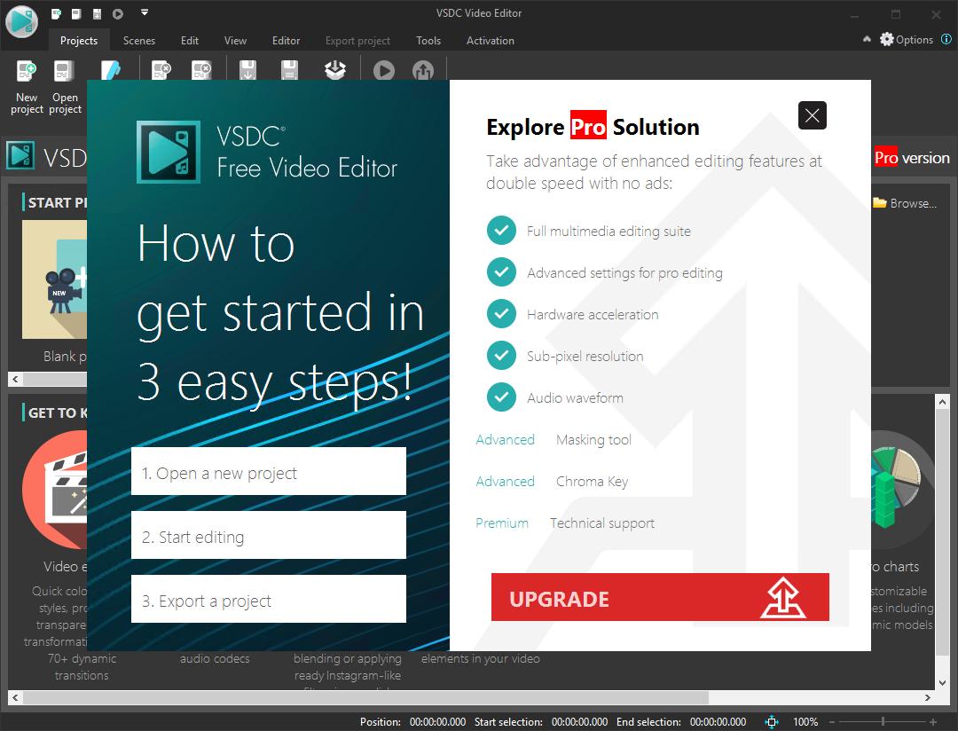 VSDC Free Video Editor 6.4.6.142