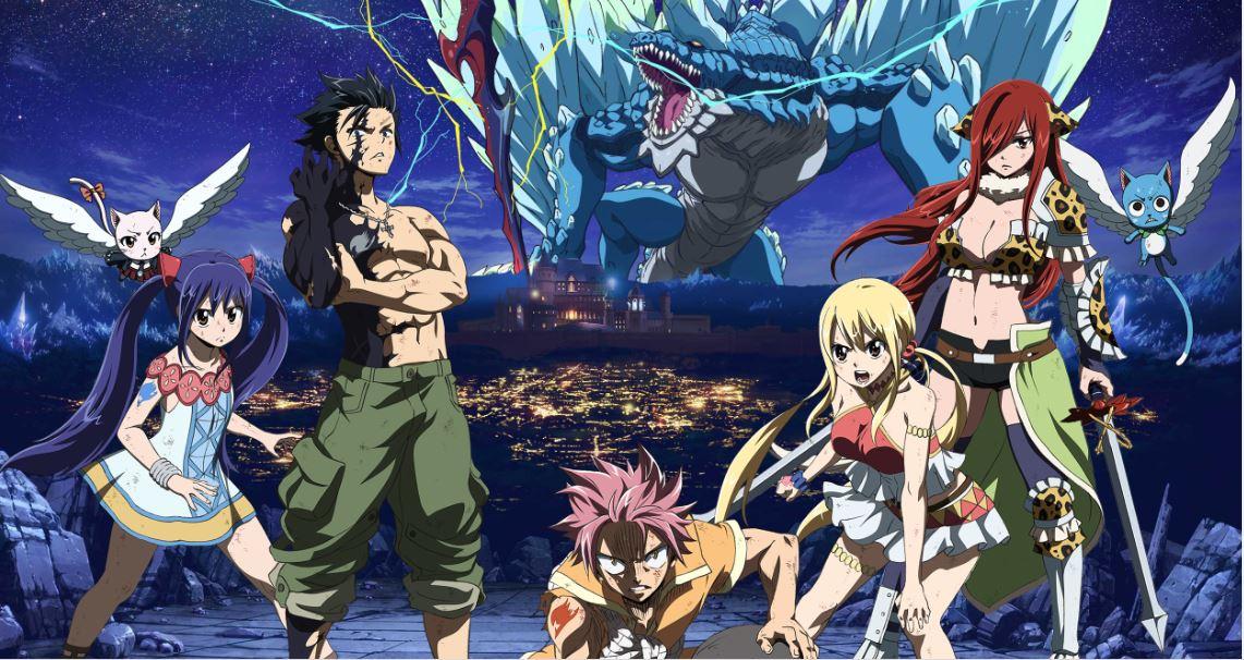 Fairy Tail: Dragon Cry (HD 1080P y Español- Inglés 2018) poster box code