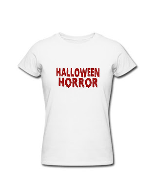 Woman T-Shirt Halloween Horror