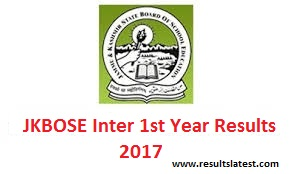 JK Board Inter 1st Year Result