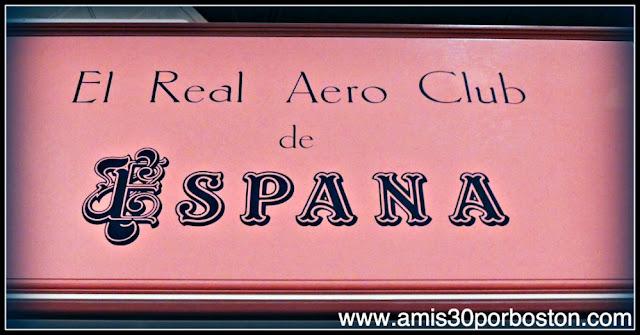 Museo Nacional del Aire y el Espacio de Estados Unidos: El Real Aero Club de España