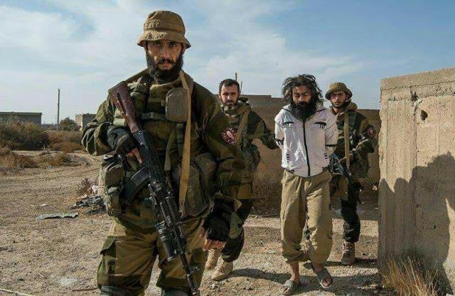 Rusiyanın təlim keçdiyi speçnaz 250 vahhabi terrorçusunu əsir götürdü