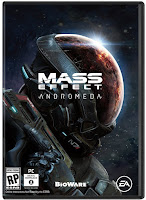 Mass Effect: Andromeda Game PC Cover