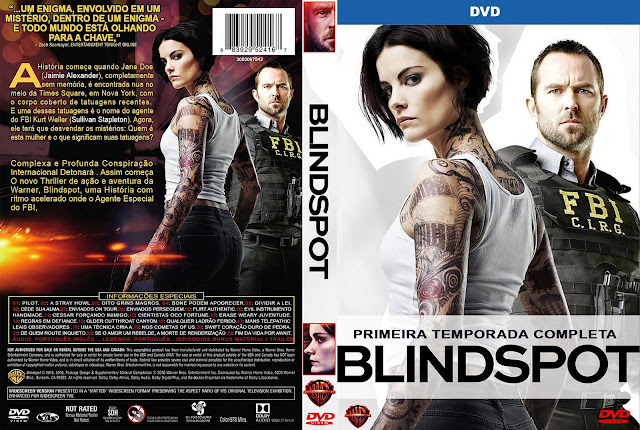 Capa DVD Blindspot Primeira Temporada Completa [Custom]