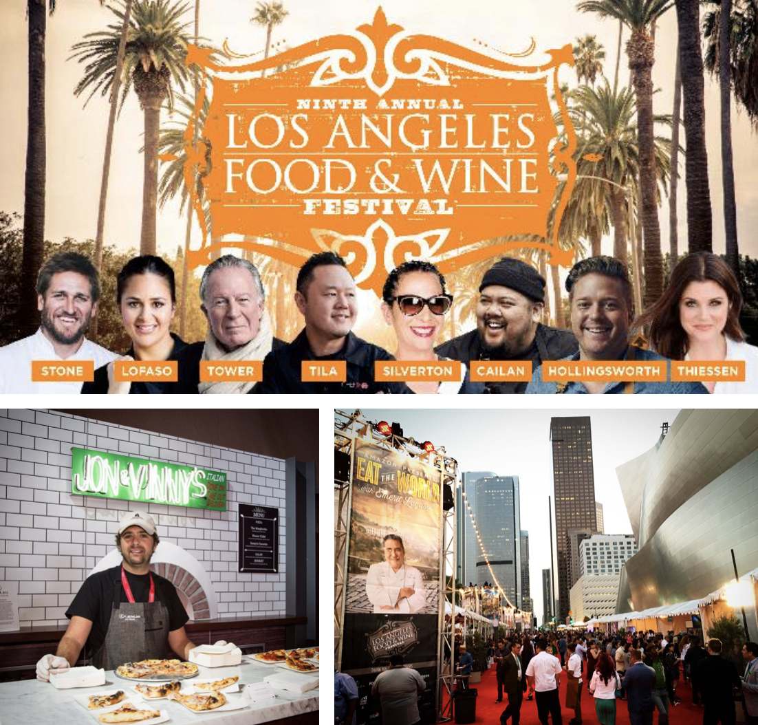 Head north for the Los Angeles Food & Wine Festival this August 22-25!