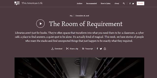podcast, The Room for Requirement