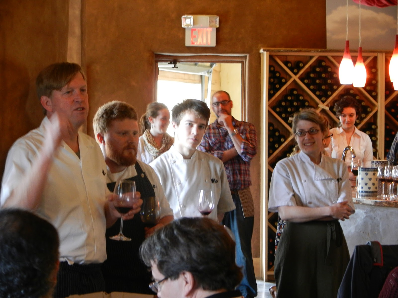Schiller Wine Chef Spike Gjerde S Farm To Table Food Of Woodberry