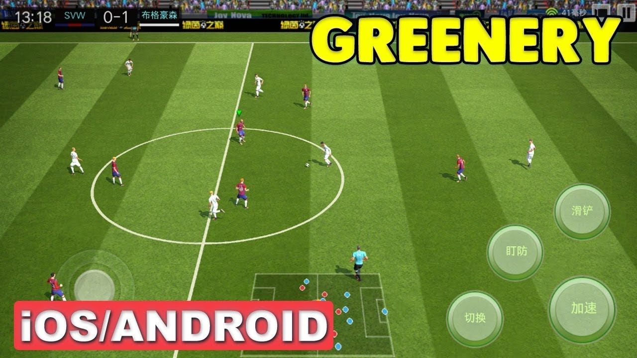 EmpireGamerz: Greenery Soccer 2019 Android Game (450 MB