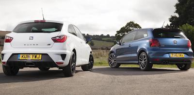 Twin examination: VW Polo GTI vs Seat Ibiza Cupra