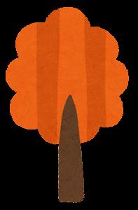 シンプルな木のイラスト6