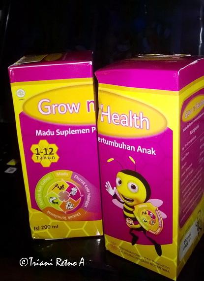 Madu Anak Grow and Health dengan Curcuma dan Ekstrak Kulit Manggis
