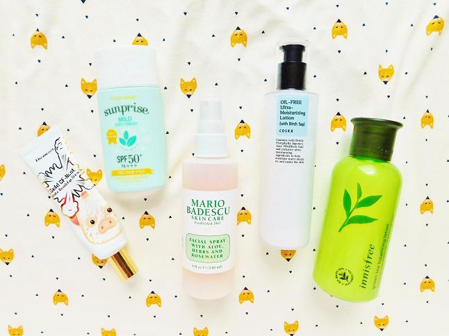 Mooeyandfriends Current Skincare Routine Autumn 2017