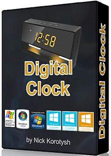 Digital Clock Portable