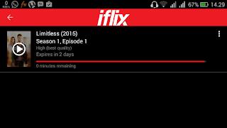 Di Iflix bisa download film terlebih dahulu sebelum ditonton