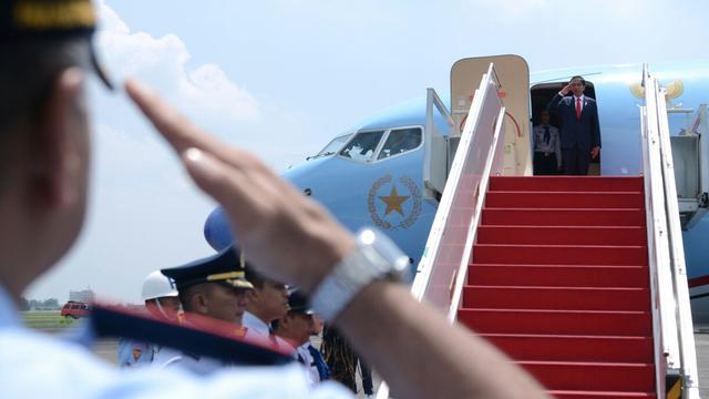 Jokowi Bertolak ke Surabaya Hari Ini