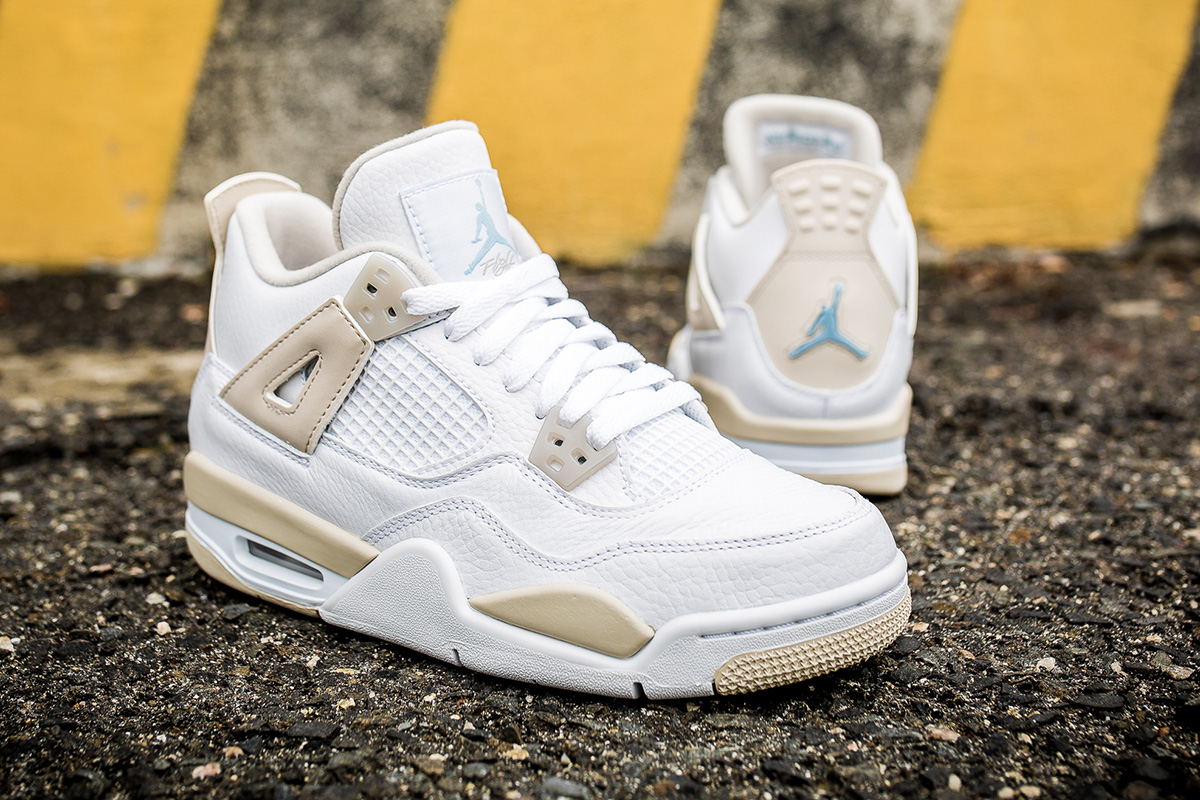 be1f5ac2ee01a6 ... uk jordan brand has reissued the linen colorway of the air jordan 4  retro. the