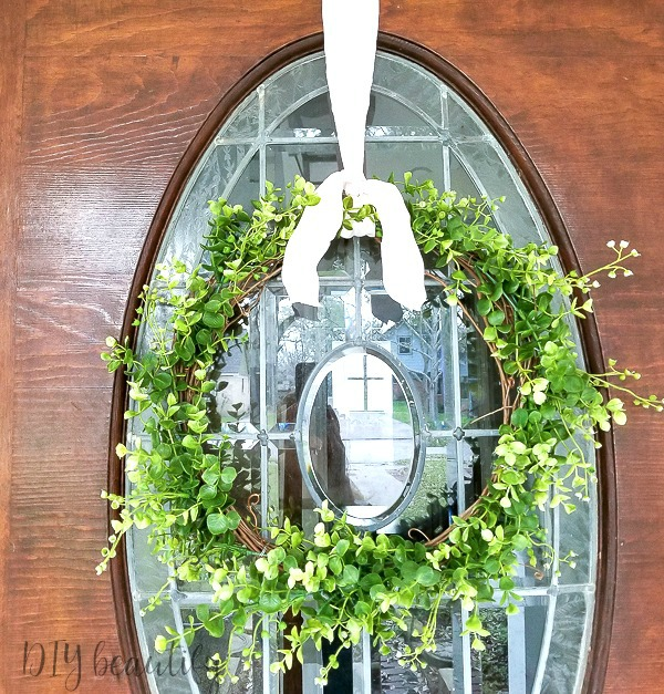 Easy Spring DIY wreath
