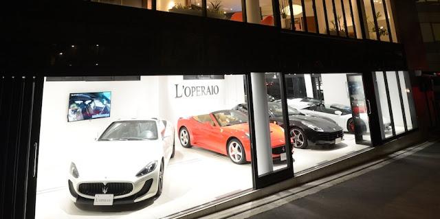 ロペライオ、最短5分でフェラーリを納車も可能な24時間365日営業の新店舗をオープン。