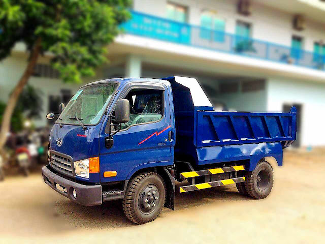 XE TẢI BEN HYUNDAI HD65